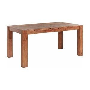 Stół z litego drewna akacjowego Støraa Minnie, 90x160cm