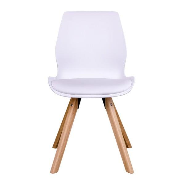 Zestaw 2 białych krzeseł House Nordic Rana