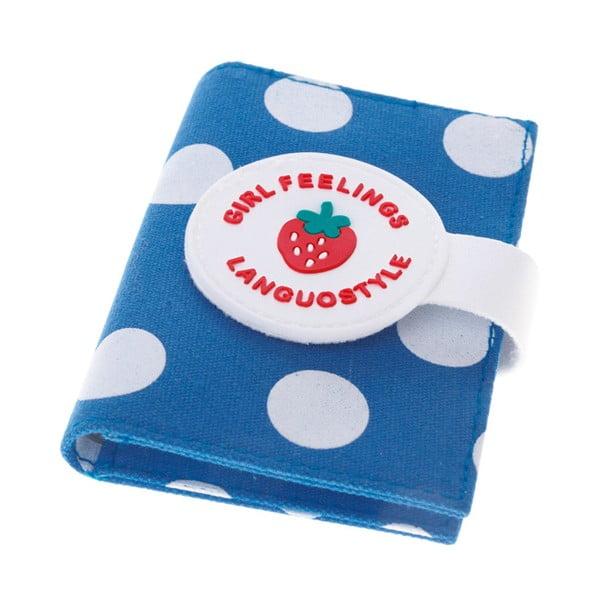 Etui na dokumenty Strawberry, niebieskie
