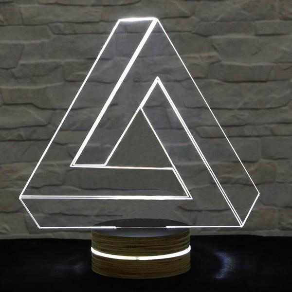 Lampa 3D stołowa Triangle II