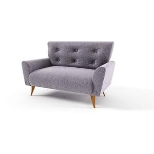Dwuosobowa sofa Lacoma, szara