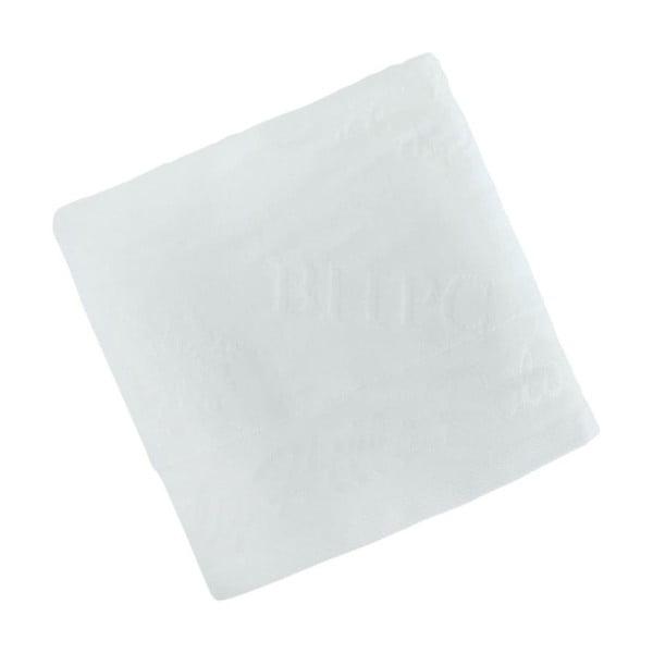 Biały bawełniany ręcznik BHPC Velvet, 50x100 cm