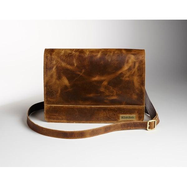 Męska torba skórzana Coach Messenger, 39 cm