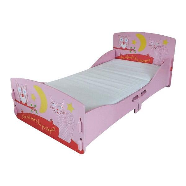 Dziecięce łóżko Owl Junior, 147x80x60 cm