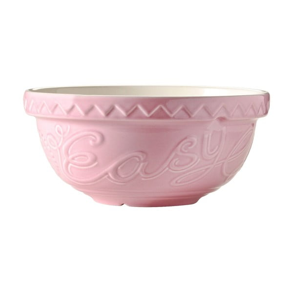 Kamionkowa miska Mason Cash Bake My Day Pink, 24 cm
