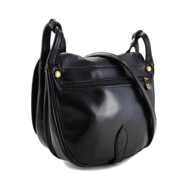Skórzana torebka Amarette Nero