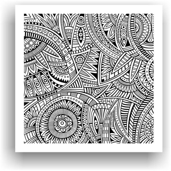 Obraz do kolorowania 25, 50x50 cm