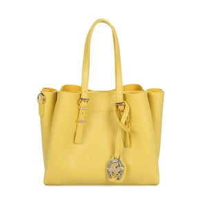 Żółta torebka ze skóry ekologicznej Beverly Hills Polo Club Alicia