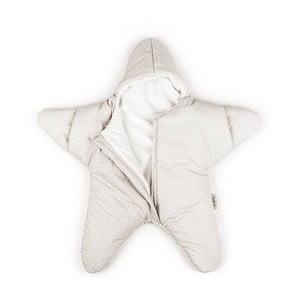 Śpiworek dla dziecka (również na lato) Beige Star, od 4 do 7 miesięcy
