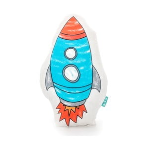 Poduszka bawełniana Mr. Fox Space Rocket 40x30 cm