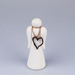 Figurka anioła z serduszkiem