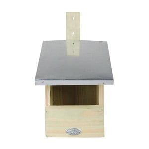 Budka dla ptaków z drewna sosnowego dla muchołówki Esschert Design, wys.33cm