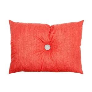 Poduszka Button Coral, 60x45 cm