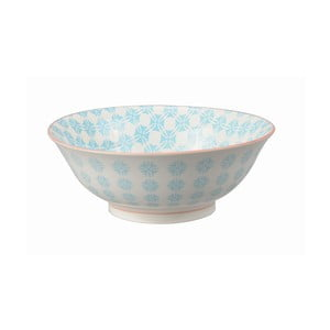Porcelanowa miska Soba Colored Blue, 21x7,8 cm