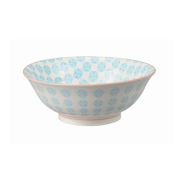 Porcelanowa miska Soba Colored Blue, 21x7,8 cm
