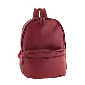 Czerwony plecak skórzany Ore Diece Rovigo