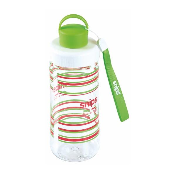 Zielona butelka na wodę Snips Decorated, 500 ml