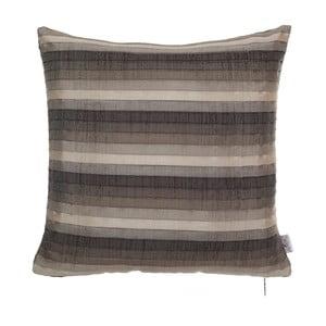 Brązowa poszewka plisowana na poduszkę Apolena Horacio, 40x40 cm