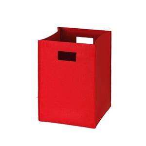 Filcowe pudełko 36x25 cm, czerwone