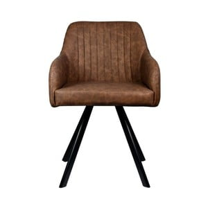 Ciemnobrązowe krzesło LABEL51 Floor