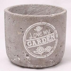 Cementowa doniczka Garden, 17 cm
