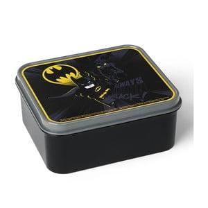 Czarny pojemnik śniadaniowy LEGO® Batman