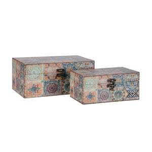 Zestaw 2 pudełek Orient