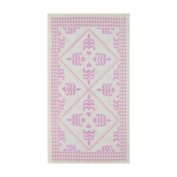 Liliowy wytrzymały dywan Lulu, 140x200 cm