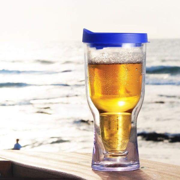 Niezniszczalny kufel Brew2Go, niebieski