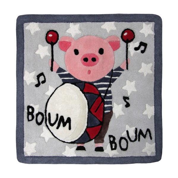 Dywan dziecięcy Boum Boum, 70x70 cm