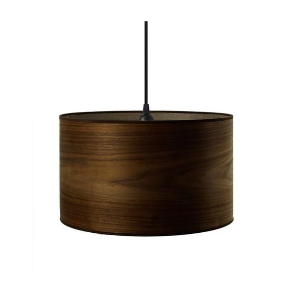 Lampa wisząca w kolorze drewna orzechowego Sotto Luce TSURI,Ø40cm
