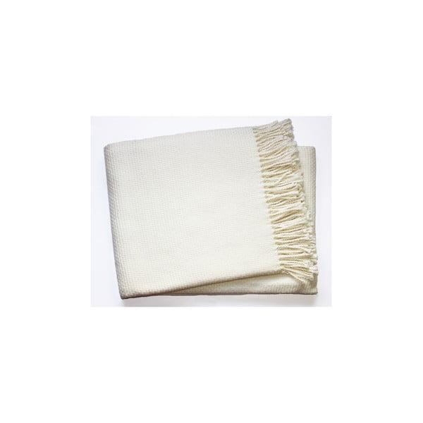 Kremowy koc Euromant Zen, 140x180 cm