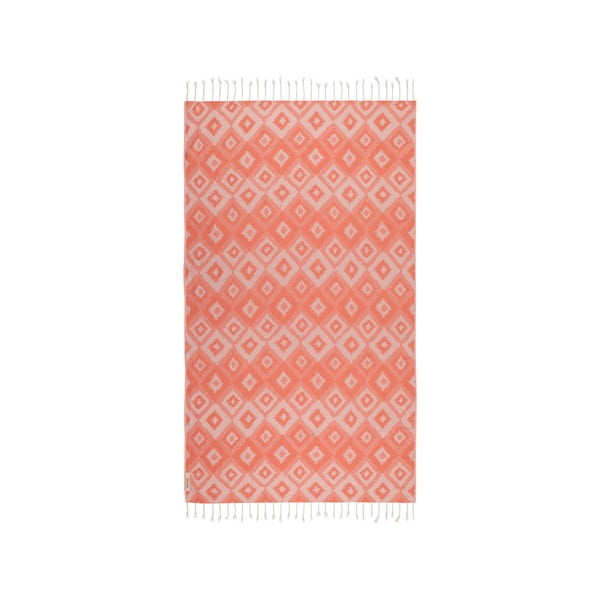Ręcznik hammam Joy, pomarańczowy