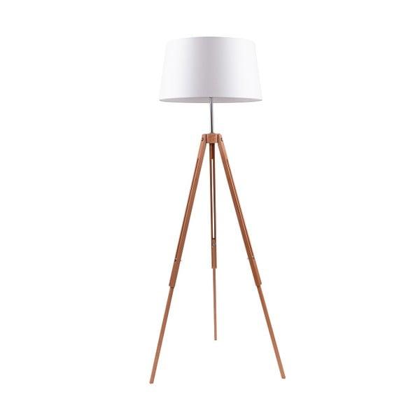 Biała lampa stojąca BRITOP Lighting Tripod Britop
