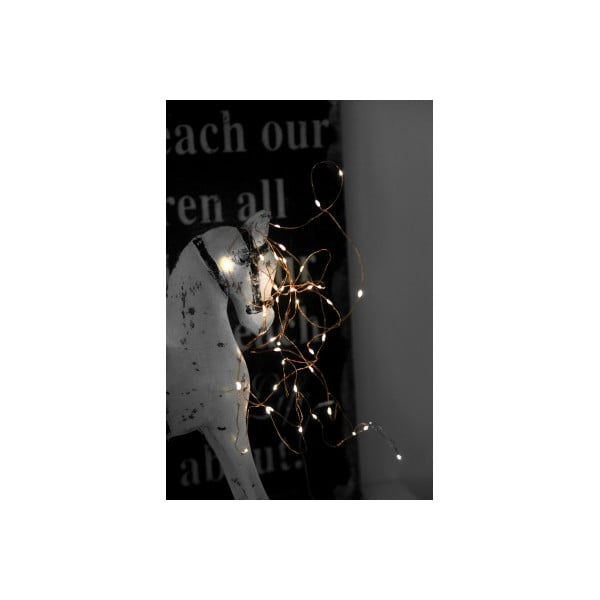 Girlanda świetlna Best Season String Copper, 40 światełek