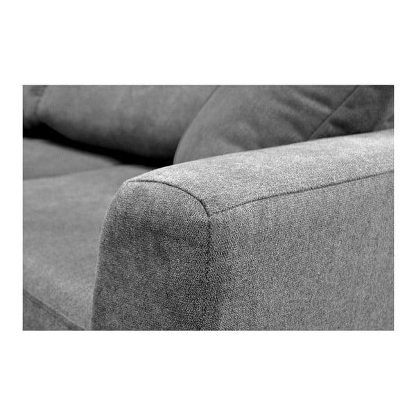 Jasnoszara 3-osobowa sofa rozkładana Cosmopolitan design Barcelona
