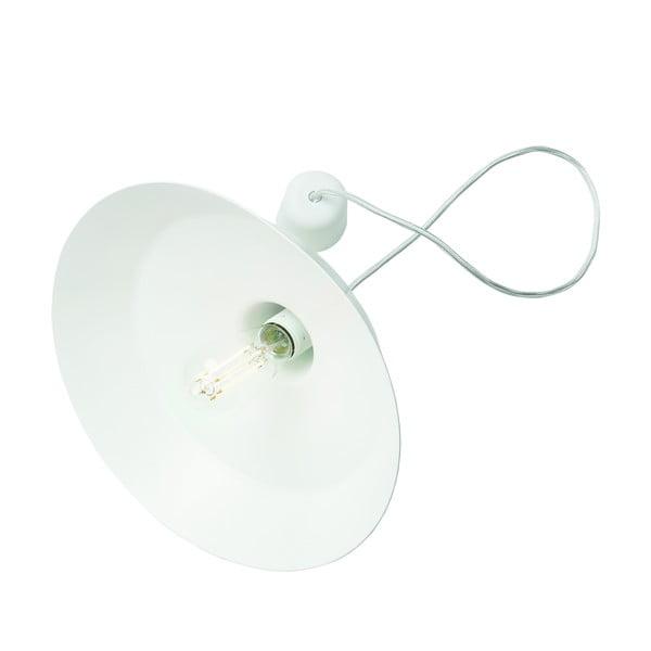 Biała lampa wisząca Bulb Attack Cinco