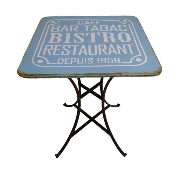 Metalowy stół Pub Bleu