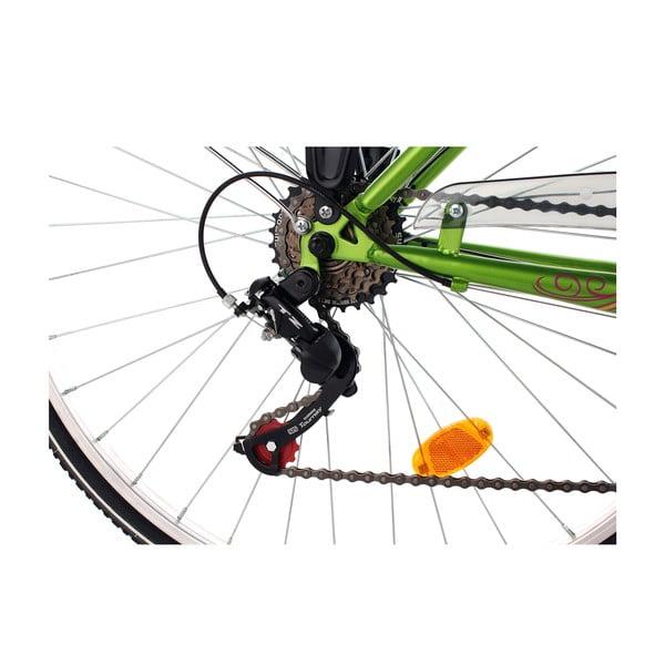 """Damski rower City Bike Papilio White 48 cm, 28"""", wysokość ramy 48 cm"""