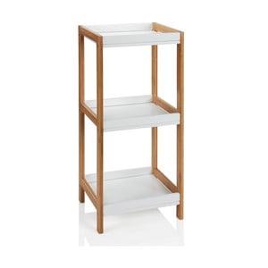 Półka łazienkowa Bamboo White I
