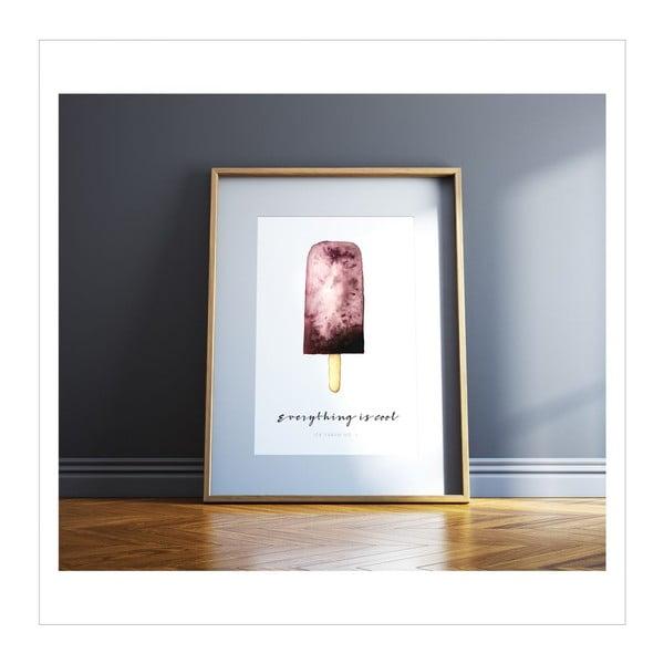 Plakat Leo La Douce Everything Is Cool I, 21x29,7cm