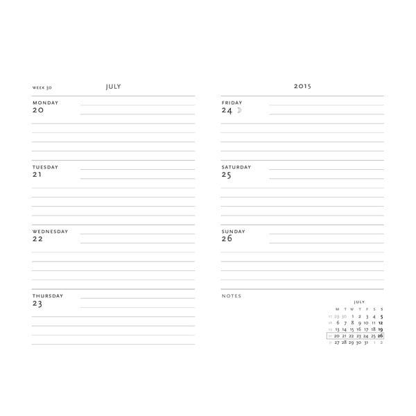 Organizer 2015 2015 Safavid 10x14 cm