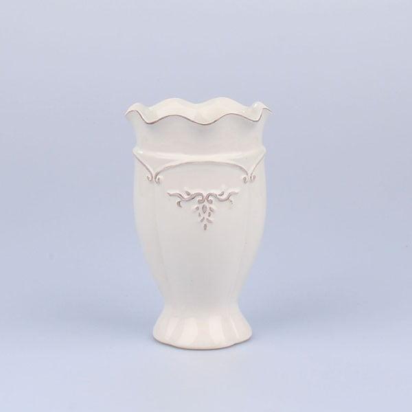 Wazon Antic White, 11x17,5 cm