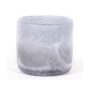Świecznik szklany Dino Bianchi Livorno, ⌀8,5cm