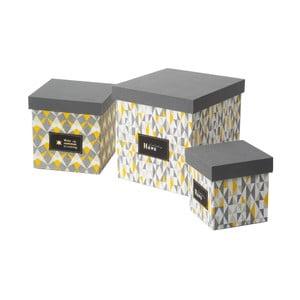 Zestaw 3 pudełek Mexico Tris