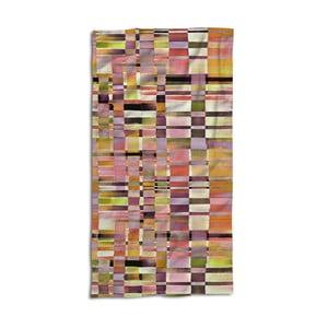 Ręcznik Essenza Dali Apricote, 100x180 cm