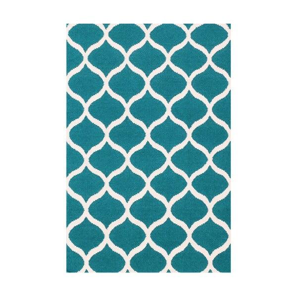 Dywan wełniany Alize, 120x180 cm, niebieski