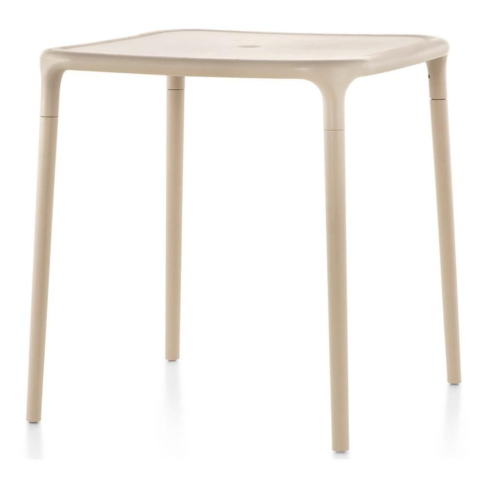 Beżowy stół Magis Air, 65x65 cm