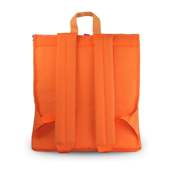 Pomarańczowy plecak Natwee