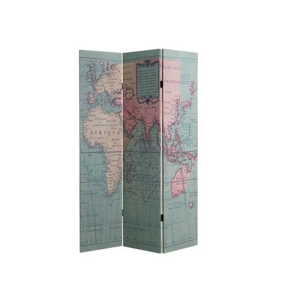 Parawan Cosas de Casa Mapa świata
